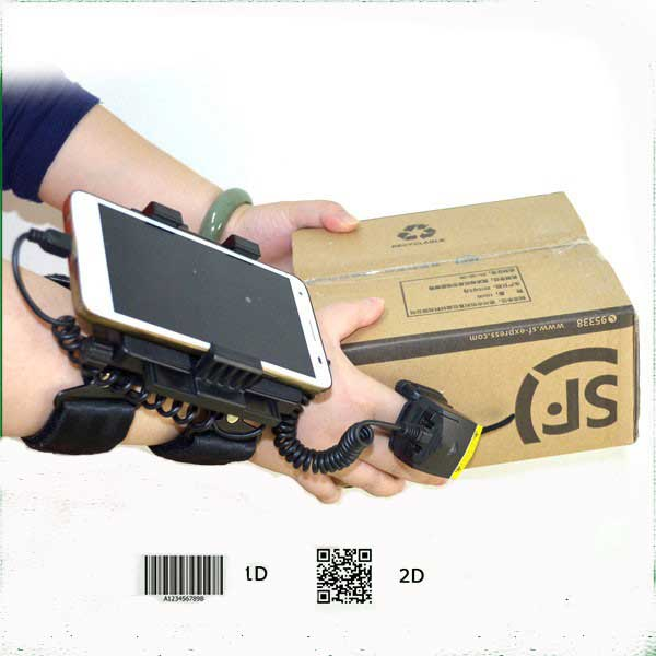Bluetooth ring barcode scanner for batch picking